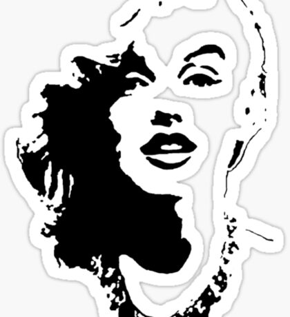 Marilyn on you Sticker