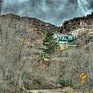 Haunted Hillside Road Jerome, AZ by Kgphotographics