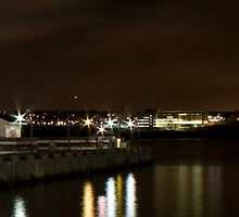 Halifax Waterfront at Night II by Scott Ruhs