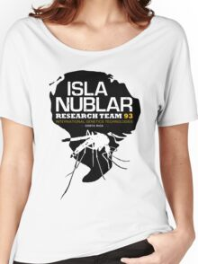 Isla Nublar Research Team 2.0 Women's Relaxed Fit T-Shirt