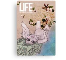 Life. Love of Nature Canvas Print