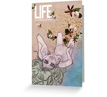 Life. Love of Nature Greeting Card