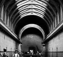 Old Melbourne Gaol by Kellie Metcalf