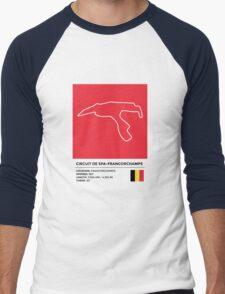 Circuit de Spa-Francorchamps - v2 Men's Baseball ¾ T-Shirt