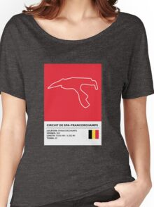 Circuit de Spa-Francorchamps - v2 Women's Relaxed Fit T-Shirt