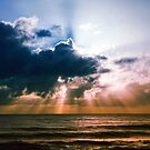Sunrise on the Sunshine Coast, QLD by Simon Le
