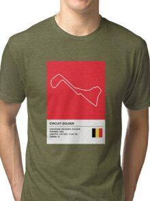 Circuit Zolder - v2 Tri-blend T-Shirt