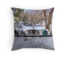 Country Mailboxes  Throw Pillow