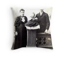 My Paternal Great-Grandparents   Throw Pillow