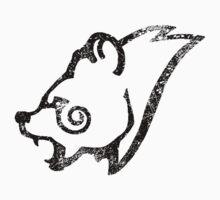 Skyrim Distressed Windhelm Logo - B&W Kids Clothes