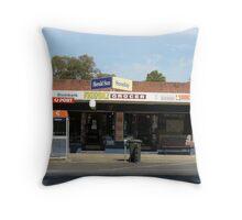 Dumbalk Friendly Grocer Throw Pillow