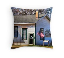 Jimmy Carter's Campaign Headquarters Throw Pillow