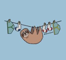 washing line sloth  by skanimations