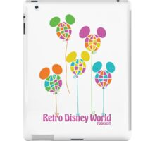 Retro Disney World Podcast Balloons iPad Case/Skin