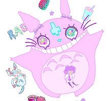 MuthaF*ckin Totoro by BeanLeaf