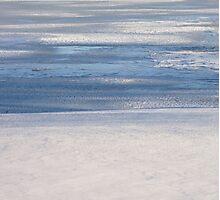 Steel Blue Ice Photographic Print
