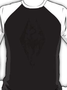 Skyrim Distressed Logo T-Shirt