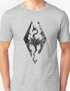 Skyrim Distressed Logo T-Shirt
