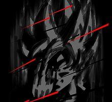 Goku Teleport by orangpalsu
