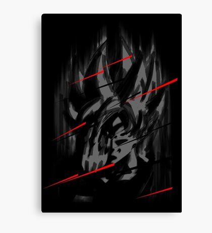 Goku Teleport Canvas Print