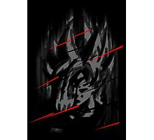 Goku Teleport Photographic Print