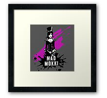 Mad Moxxi (Colored BG) Framed Print