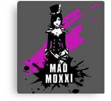 Mad Moxxi (Colored BG) Canvas Print