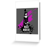 Mad Moxxi (Colored BG) Greeting Card