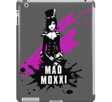 Mad Moxxi (Colored BG) iPad Case/Skin