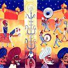 Rajasthani Wedding Procession by juicyapple