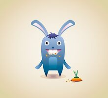 Blue bunny by alijun