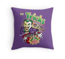 Tricks Throw Pillow