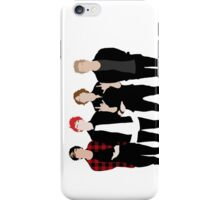 5SOS Silhouettes Phone Case iPhone Case/Skin