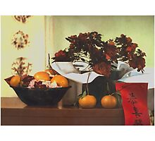 Chinese New Year Still Life Photographic Print