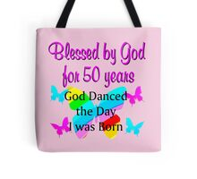 50TH BIRTHDAY PRAYER Tote Bag