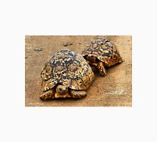 FOLLOWING HER - THE  MOUNTAIN - LEOPARD TORTOISE – Geochelone pardalis Unisex T-Shirt