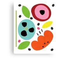 flower bits Canvas Print