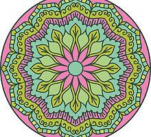 Mandala - Circle Ethnic Ornament by magicmandala