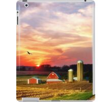 Silos in the Sunset iPad Case/Skin