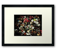 obsessions of a strawberry Framed Print