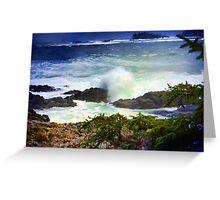 """Pacific Rim National Park-British Columbia"" Greeting Card"