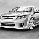 SSV Holden drawing by John Harding