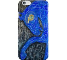 Blue Horse iPhone Case/Skin