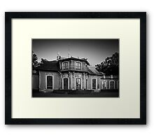 China Castle Drottningholm Framed Print