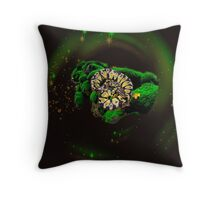 beuty of a python Throw Pillow