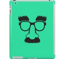 Groucho mask - nerd glasses iPad Case/Skin