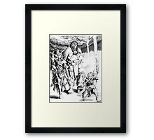 The Adventuring Party Framed Print