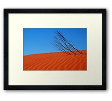 Desert,N.T. Framed Print