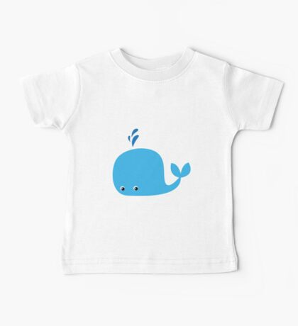 Cute Little Whale Baby Tee