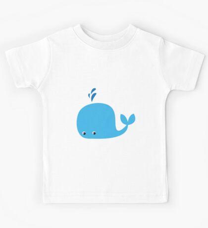 Cute Little Whale Kids Tee